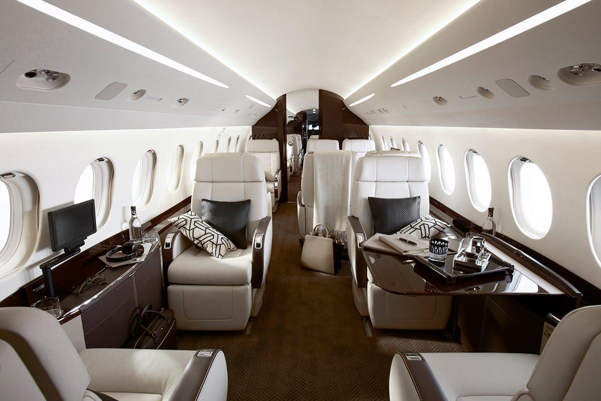 Dassault Falcon 2000 XLX Interior